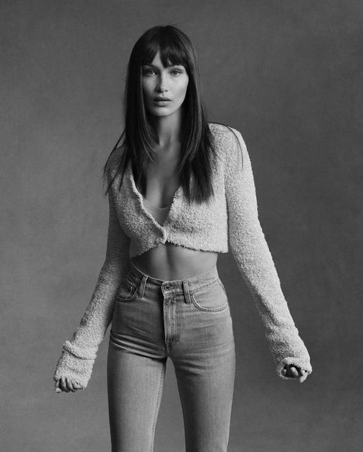 Happy Birthday to Model Bella Hadid who turns 25 today! Photo by Helmut Lang.... 1