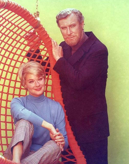 Hope Lange and Edward Mulhare in The Ghost and Mrs. Muir. #ghoststories... 1