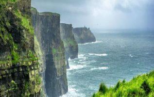 Ireland , Cliffs of Moher...