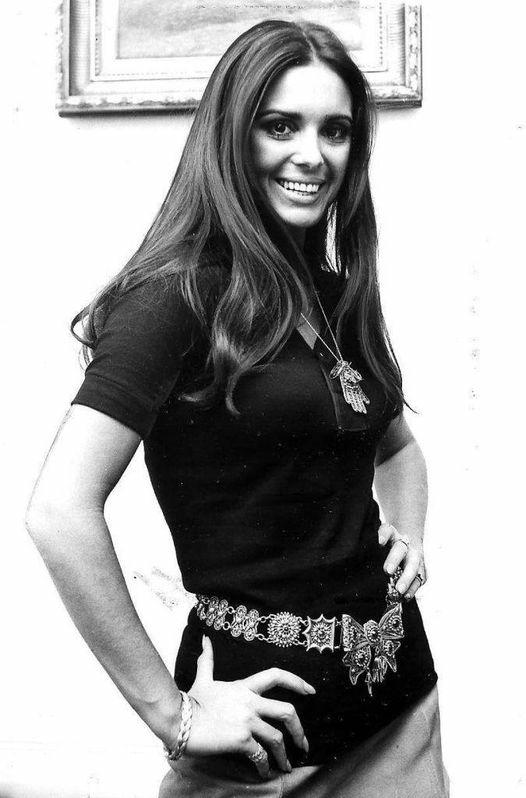 Israeli Actress Daliah Lavi (October 12, 1942 - May 3, 2017).... 1