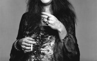 Janis Joplin photographed by Richard Avedon....