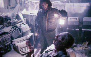 Kurt Russell.  The Thing (1982)....
