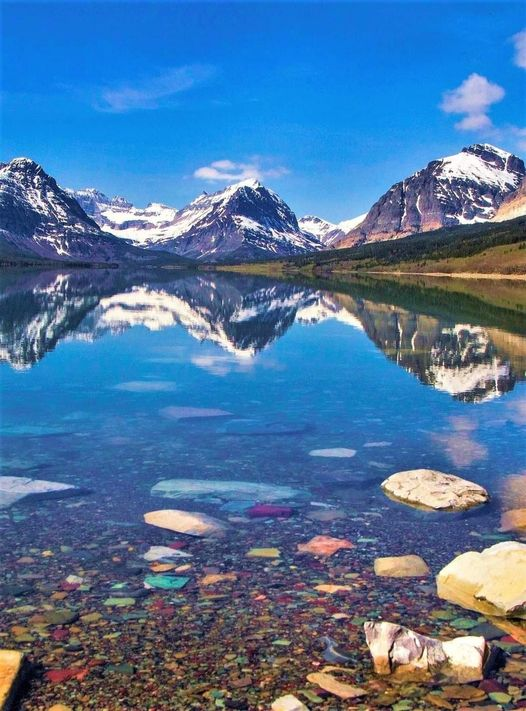 Lake Sherburne,Montana USA... 1