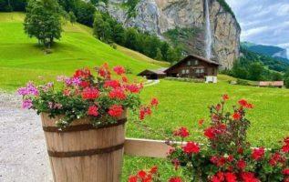 Lauterbrunnen! Όμορφο χωριό...