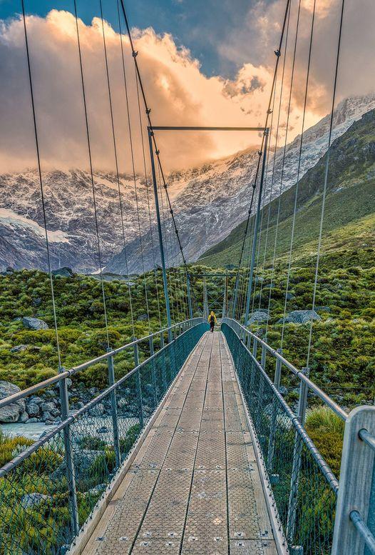 Mount Cook, New Zealand... 1