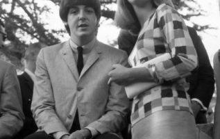 Paul McCartney and Peggy Lipton....