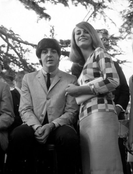 Paul McCartney and Peggy Lipton.... 1