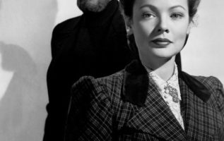 Rex Harrison and Gene Tierney.  The Ghost and Mrs. Muir (1947).  #ghoststories...