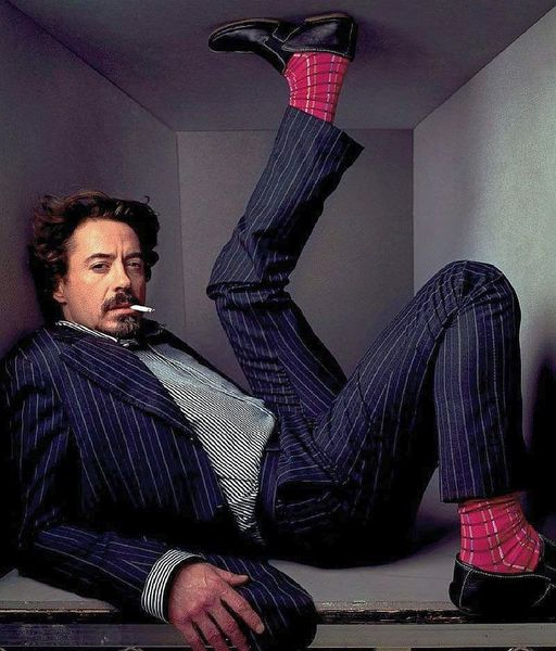 Robert Downey Jr. photographed by Annie Leibovitz.... 1