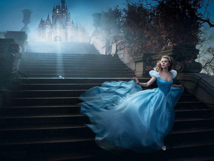 Scarlett Johansson as Cinderella photographed by Annie Leibovitz.... 1