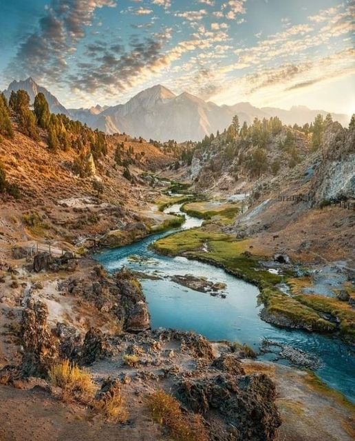 Sierra Nevada Mountains, California... 1