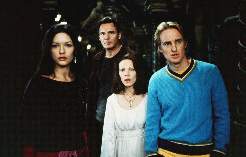 The Haunting (1999). Catherine Zeta-Jones, Liam Neeson, Lili Taylor and Owen Wi... 1