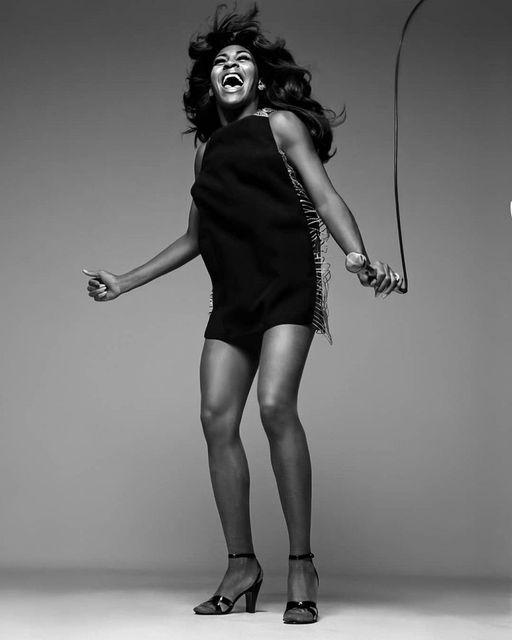 Tina Turner photographed by Richard Avedon.... 1